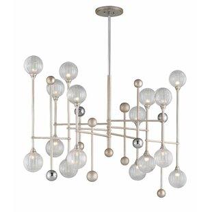 Corbett Lighting Majorette 16-Light Chandelier