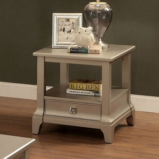 Torrence End Table by House of Hampton