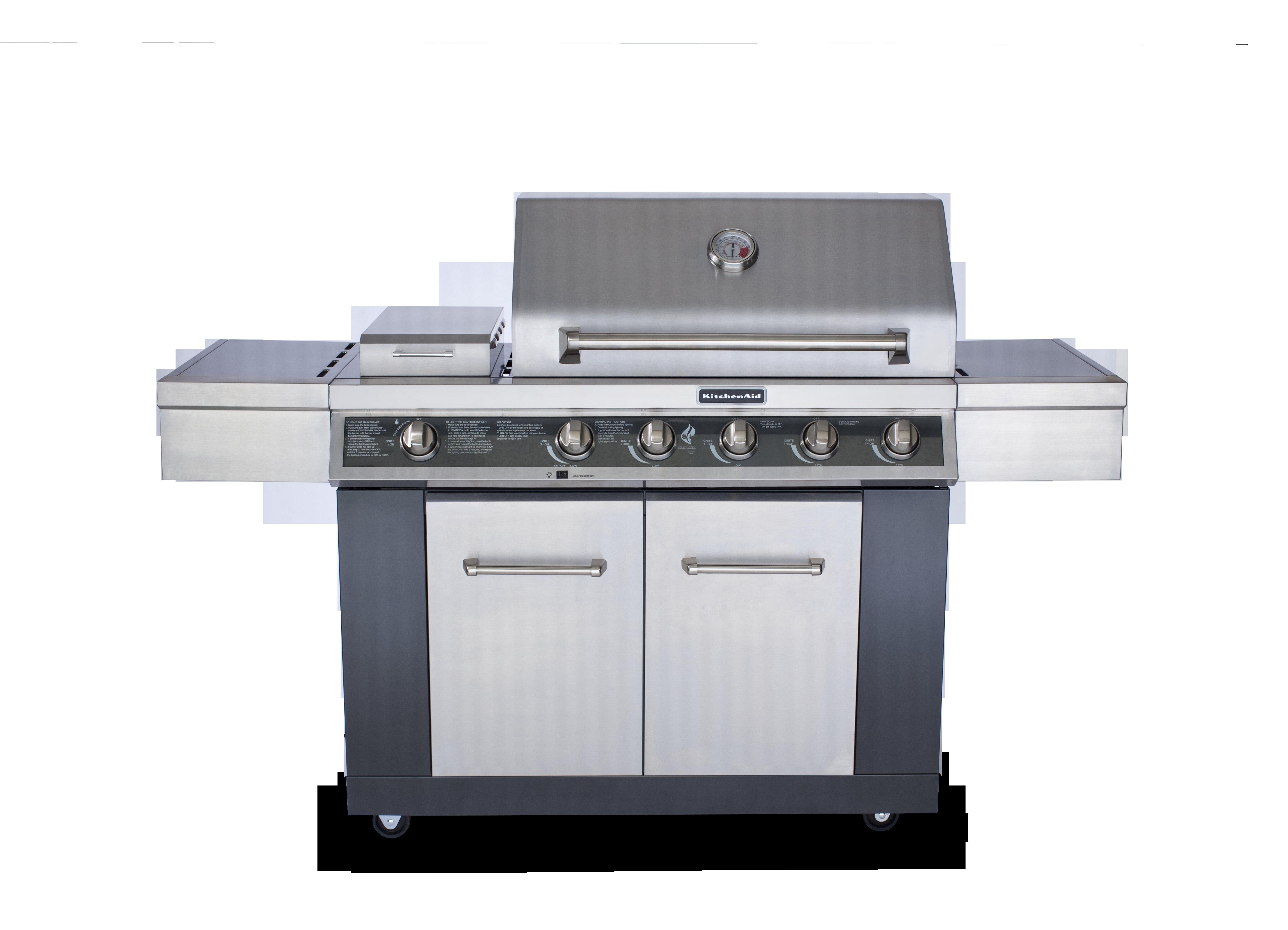 5-Burner Liquid Propane Gas Grill - 720-0709C