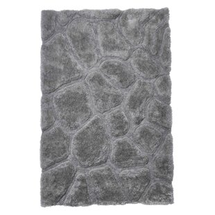 Le House Hand Tufted Silver Rug