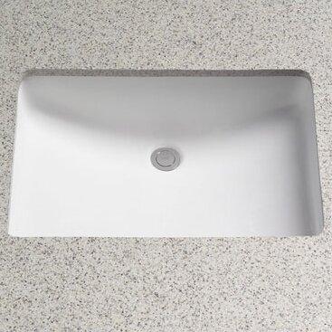 Bathroom Sinks Rectangular ronbow lesteter ceramic rectangular undermount bathroom sink with