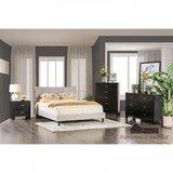 Inessa Queen Solid Wood Upholstered Sleigh Platform  5 Piece Bedroom Set by Wrought Studio