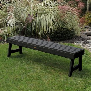 Berry Backless Synthetic Wood Picnic Bench by Darby Home Co