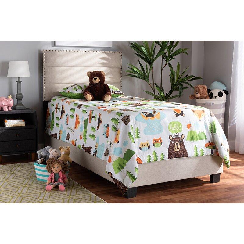 Ebern Designs Tufted Upholstered Low Profile Standard Bed Wayfair