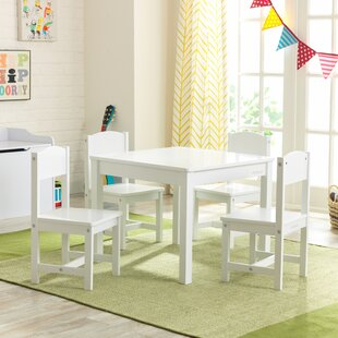 Children's 5 Piece Table And Chair Set By KidKraft