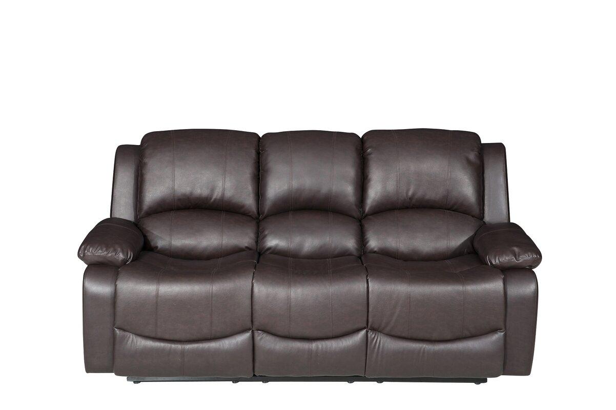 Cfd Sofas Minesota 3 Seater Reclining Sofa Reviews Wayfair Co Uk ~ Three Seater Recliner Sofa