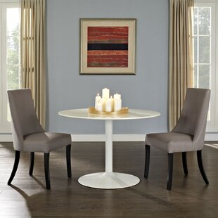 Abbingt Upholstered Dining Chair (Set of 2) Ebern Designs