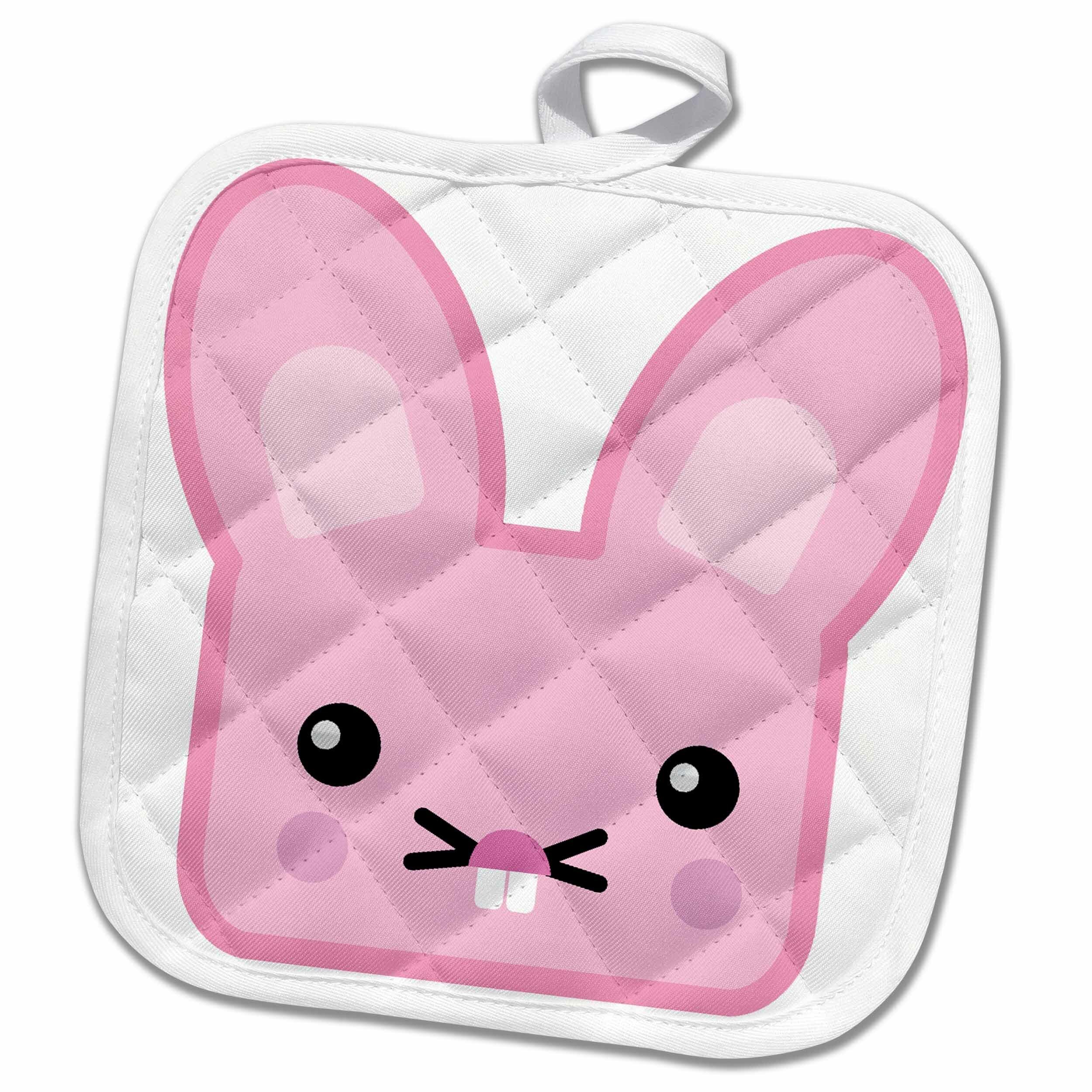 3drose Cute Kawaii Bunny Potholder Wayfair