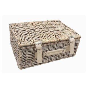 Empty Picnic Basket By Brambly Cottage
