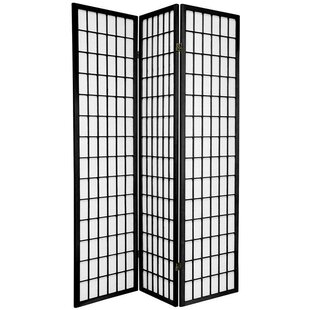 World Menagerie Marissa Shoji 3 Panel Room Divider