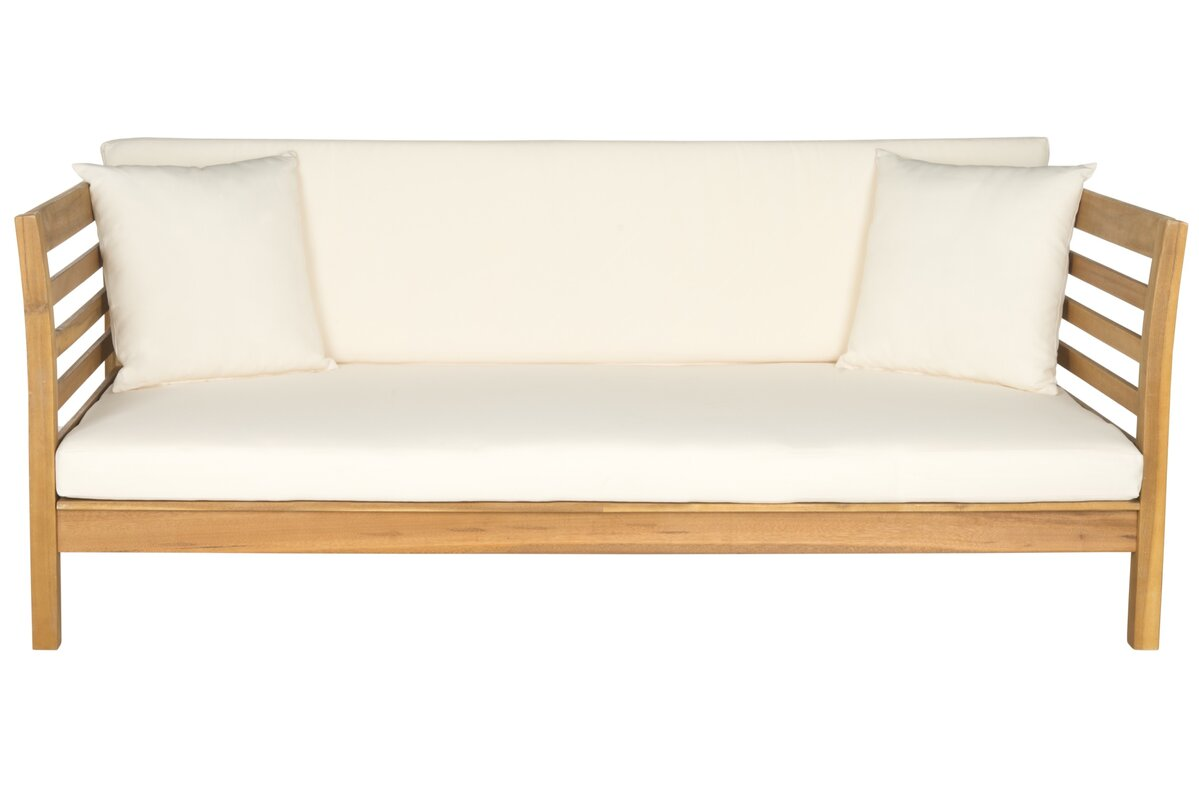 Joss & Main Bodine Patio Daybed with Cushions