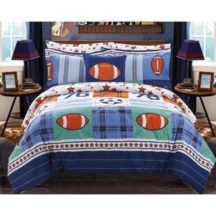 Brenner Reversible Comforter Set