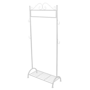 82cm Wide Clothing Stand With Shelf By Lily Manor