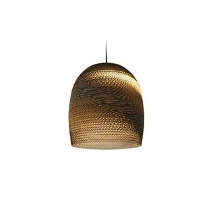 GrayPants Scraplight Bell 1-Light Cone Pe..