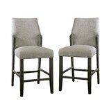 Pignataro 25.5 Bar Stool (Set of 2) by Wrought Studio™