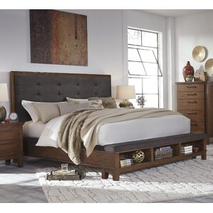 Upholstered Storage Panel Bed by Brayden Studio