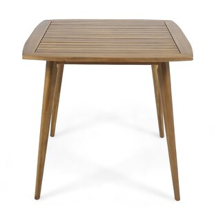 Oxendine Solid Wood Dining Table George Oliver