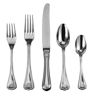 Cellini 20 Piece 18/10 Stainless Steel Flatware Set, Service for 4