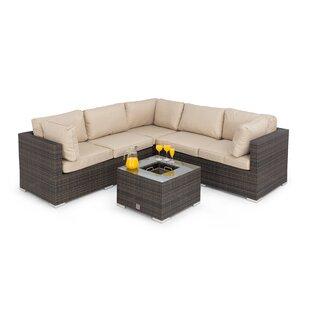Sukhani 6 Seater Rattan Corner Sofa Set By Sol 72 Outdoor