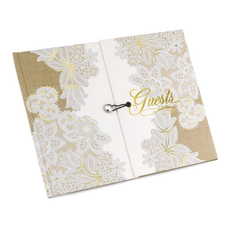 Gatefold Guest Book