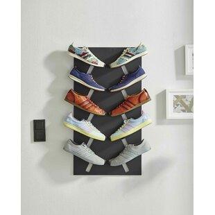 Flat 5 Pair Shoe Rack By Symple Stuff