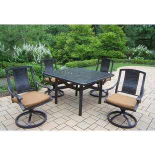 Oakland Living Vanguard 5 Piece Dining Se..