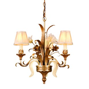 Astoria Grand Mccormick 3-Light Shaded Chandelier