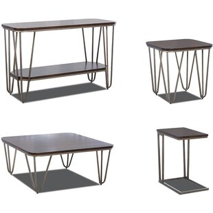 17 Stories Hattie 4 Piece Coffee Table Set