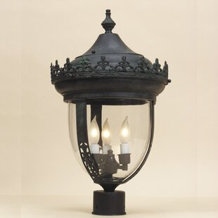 Astoria Grand Speights Outdoor 3-Light Lantern Head