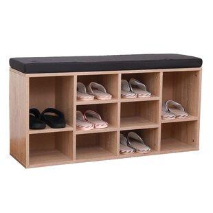 Beau 10 Pair Shoe Storage Bench
