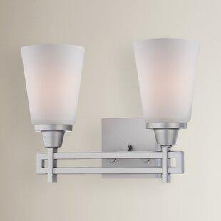 Simpson 2-Light Vanity Light by Latitude Run
