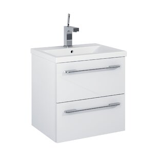 Hansel 496mm Wall Hung Single Vanity By 17 Stories