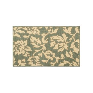 Jaya Bennet Green/Beige Indoor/Outdoor Area Rug