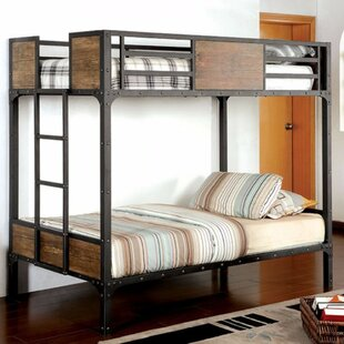 Harrell Twin over Twin Bunk Bed
