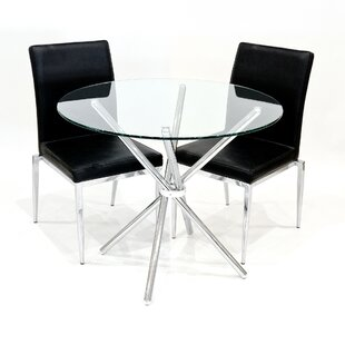 Wommack Dining Set With 2 Chairs By Metro Lane