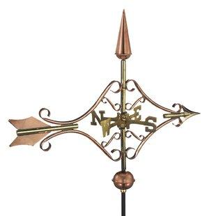 Briarhill Victorian Arrow Weathervane By Sol 72 Outdoor