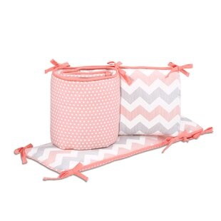 Affordable Price Uptown Girl Crib Bumper ByThe Peanut Shell