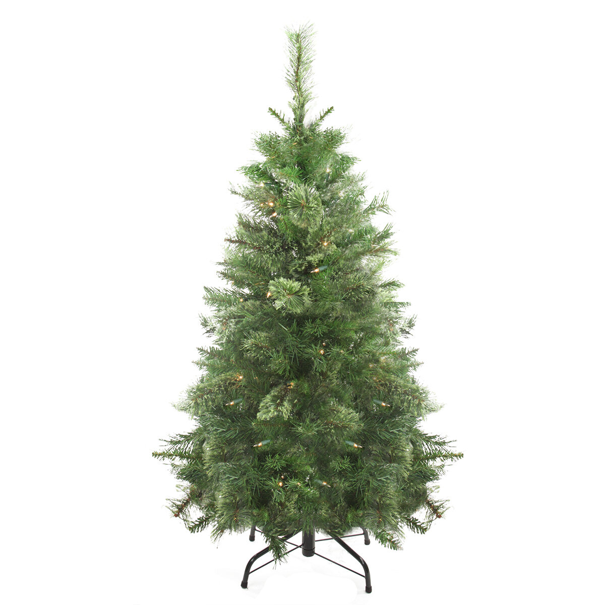 Northlight 4\' Green Mixed Cashmere Pine Artificial Christmas Tree ...