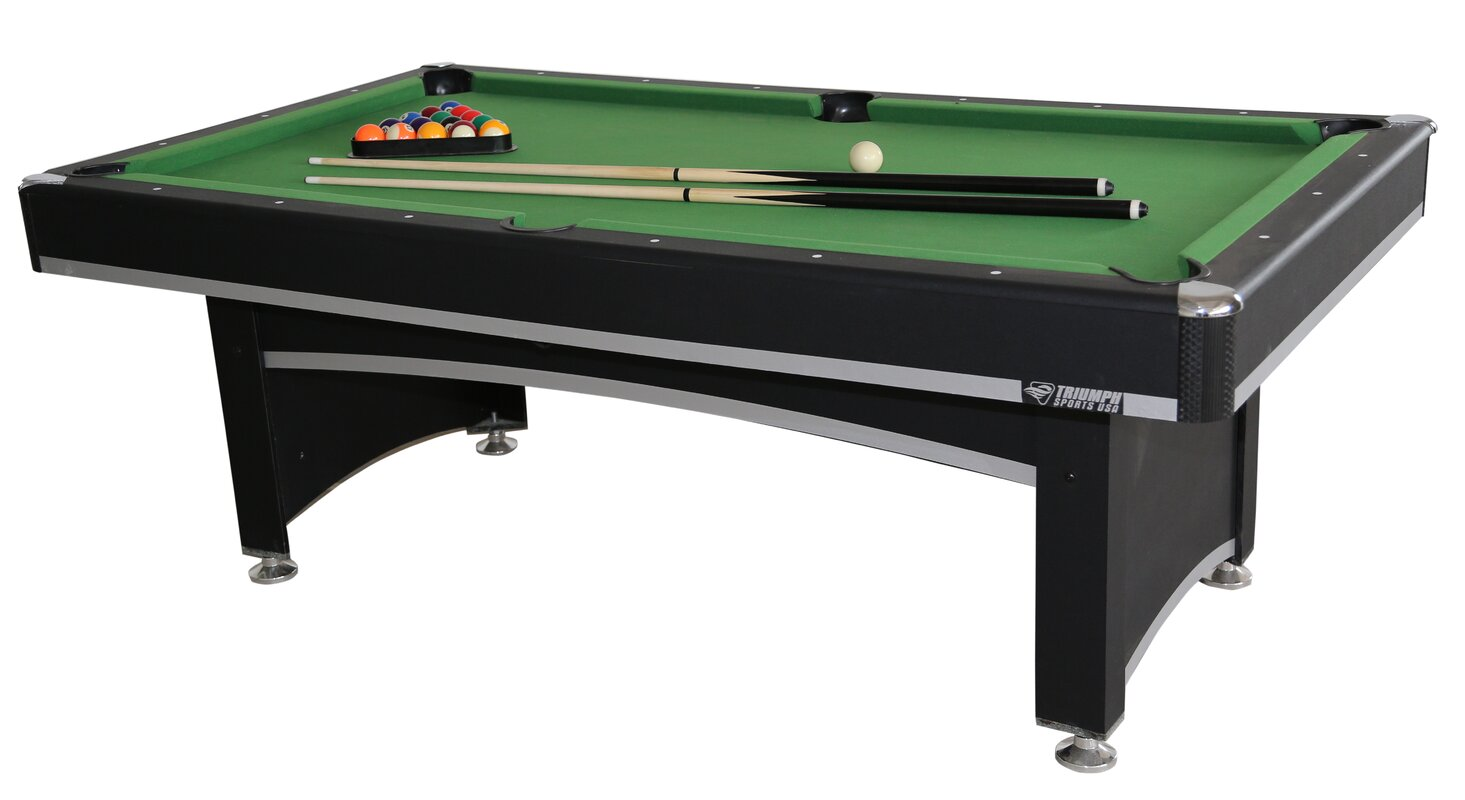 Triumph Sports USA Phoenix Billiard Table with Table Tennis Top ...