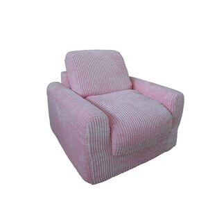 Affordable Price Chenille Kids Foam Chair ByFun Furnishings