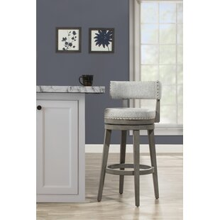 Malachy Bar & Counter Stool Swivel Stool by Millwood Pines
