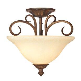 Shop for Regal Springs 2-Light Semi-Flush Mount By Westinghouse Lighting