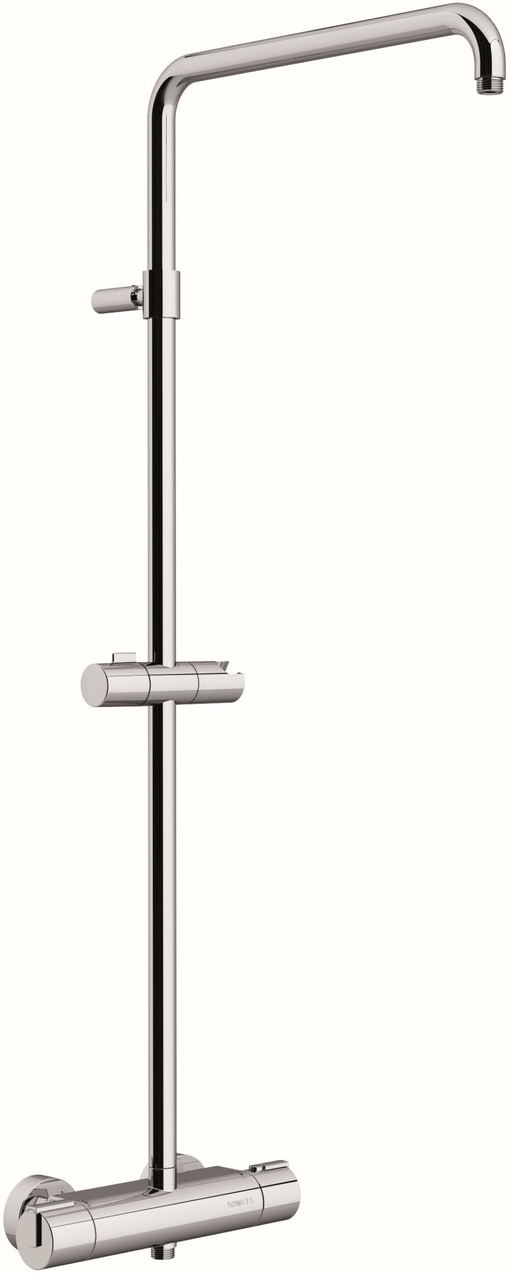 Nikles Techno Thermostatic Complete Shower System With Rough In Valve Wayfair