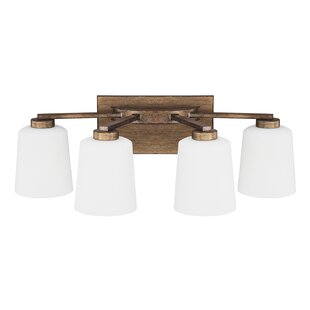 Laurel Foundry Modern Farmhouse Holly Hills 4-Light Vanity Light