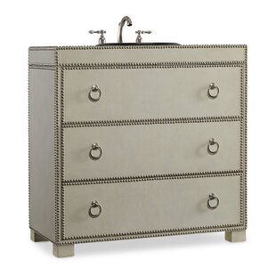 Designer Series 37 Mackenzie Hall Chest Vanity Base by Cole + Company