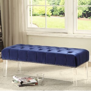 Hanover Upholstered Bench by Everly Quinn