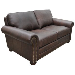 Athens Loveseat by Omnia Leather