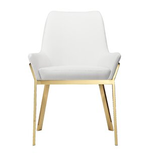 Tovar Upholstered Dining Chair (Set of 2) by Everly Quinn