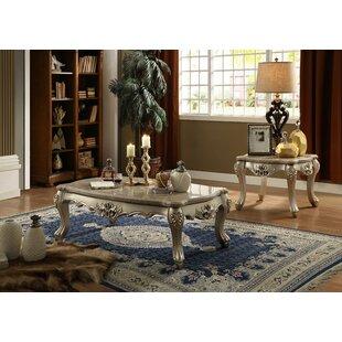 Astoria Grand Nia 2 Piece Coffee Table Set