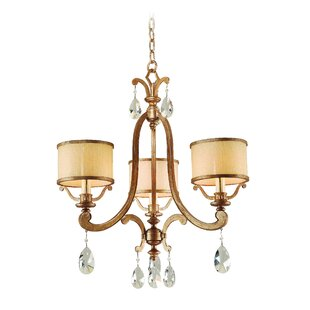 Astoria Grand Cyra 3-Light Shaded Chandelier